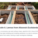 Keystone Edge Q & A with Colin Lennox of EcoIslands in Altoona PA